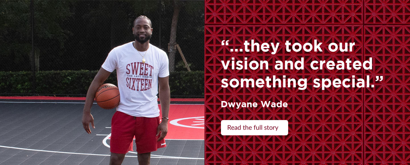 """...they took our vision and created something special."" - Dwyane Wade - Read the full story"