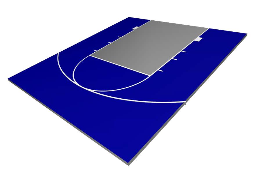Contender Basketball Court
