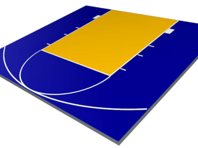 Defender Basketball Court