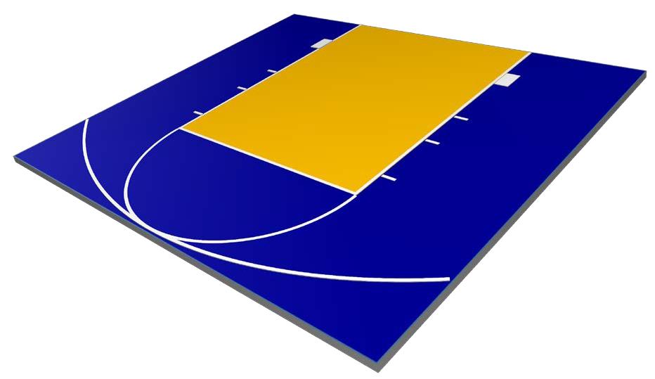 Defender Basketball Court