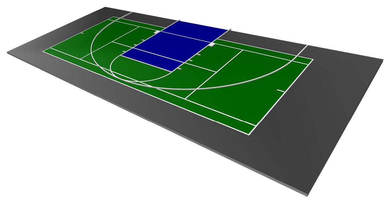 Gladiator Multi-Sport Court