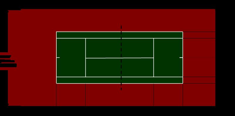 Standard Tennis Court