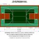 50′ X 80′ Multi-Game Court