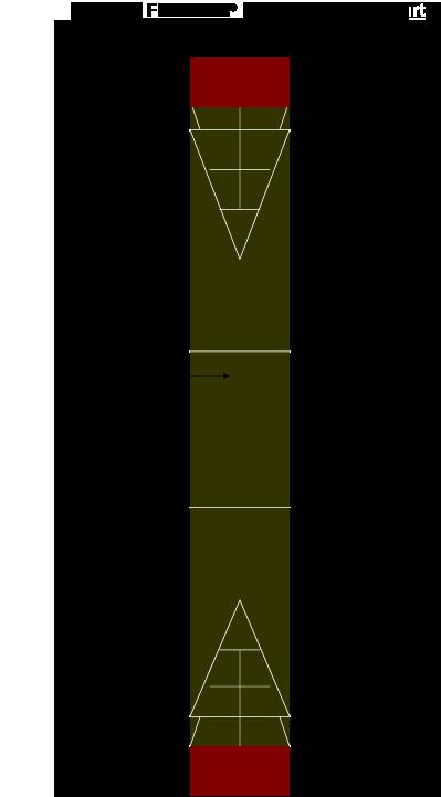 10′ X 40′ Shuffleboard Court
